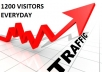 Offer  1200 VISITORS PER DAY FOR 30 DAYS only