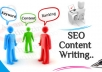 write up to 500 words of original SEO content for your article, blog, or website within 24 Hours which is 100%CopyScape Pass