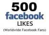 provide 500++ real facebook likes on your fanpage less than 72 hours only
