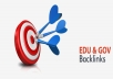 create 5000 edu gov backlinks (50 backlinks to each url) with high pagerank and domain authority
