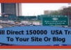 offer Website Traffic I  Will Direct 150000  USA Traffic To Your Website Or Blog
