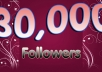 Send you 30000 TWITTER followers no password needed to your account no password required lightningly within 24 hrs