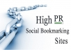 100 social bookmarks site unique, dofollow backlinks of your website