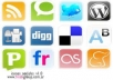 do SOCIAL bookmark to your multiple URLs to 200 social bookmark sites in 4 hours!!!