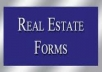 customized any REAL ESTATE form such as residential or commercial lease, rental agreement, notice to terminate lease ans include any terms or condition you desire