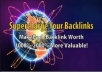give you Over 100,000 backlinks, including EDU +BONUS