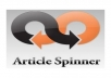 Give you Article Spinner