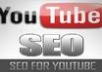 backlink youtube video with 200 social bookmarks and 3000 wiki links and provide full report within 48 hrs, youtube seo service...!!!!!!!!!