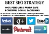 deliver on your website 50 facebook likes + 50 retweets + 25 google plusones + 25 pinterest + 50 linkdin + 50 stumbleupon + 50 tumblr!!!