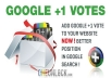increase your 65 google+1 vote 60+Google share from real google+1 account Which is doing 100% real  & account.Its only