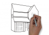 create a speed drawing whiteboard animation for Real Estate business