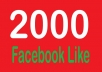 giuve you 2000 Real uk and usa based facebook likes to any website or blog or inner pages