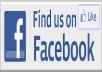 Provide you 100+ Facebook likes