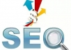 create 500 high pr SEO backlinks for your web page which are google panda and penguin safe backlink + will ping back links....
