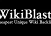 provide 21 000+ AMAZING Wiki backlinks from 7356+ Unique Domains, Google Loves these links so get them......