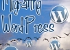 move your Wordpress site to new host during 24 hours!!!