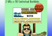 seO explode Your Website with 100 Social Bookmarks 500 Contextual Backlinks plus Rss mix submition plus Ping!!!