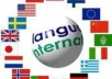 create a squidoo lens in any language you want like Spanish, German, Italian, French or any other language for your website promotion, marketing and link building..@