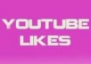 get you 105 youtube/video likes from real people wthin 2 day..