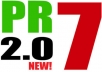 create 14 PR7 Profiles PR7 Backlinks from PR7 2 0 Authority Sites!!!