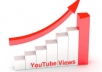give you 1000 YouTube video views 100 Likes 100 subscribers 100 favorites and 100 comments!!!