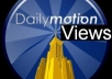 provide 5000 Views to the Dailymotion or Break [and also many other Video Sharing Sites Supported!!!
