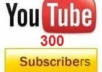 get you 500 you tube subcribers channel in your account
