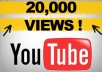 give you [Fast] 20,000+ Youtube views within 24 hours