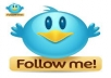Get you 202+ Twitter Followers, 100% real & Genuine & active, only