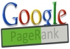 create 30 actual page rank pr 3 and higher backlinks