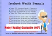 show you step by step how to make MONEY with Facebook Guaranteed and how to get maximum fans, July 2012 Update from the most realistic internet marketer