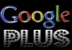 Give You USA Based 100 Google Plus One +1 Votes to Your Website/blog