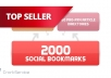 create 75 PR3 to PR8 seo LlNKWHEEL and 2000 social bookmarking backlinks...!!!!
