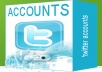 give you 150 accounts twitter age 1 year best quality