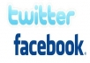 give 1,000++ Facebook likes on your fanpage and advertise your website to 300,000+ twitter followers in 48 hours