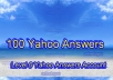do 100 yahoo answer from level 2,3,4 or 5 yahoo answer account and confirm 25+ best answers