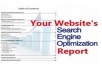Make a killer SEO report on any web site you would like and then send it to you 