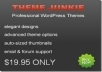 upload 8 theme of theme-junkie in your website