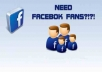 creat a facebook fanpage an give it 200 real likes