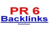 create HOMEPAGE BlogRoll DOFOLLOW PR 6 and PR 5 link