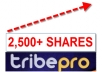 promote ONE of your links using the TribePro Network, Each url will be shared over 2,500 Plus times....!!!!!!! 