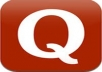 promote your website on 15 QUORA Questions