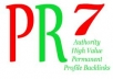 create 2xPR7 5xPR6 and 10xPR5 Dofollow Backlinks from Actual Page Manual Posted