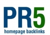 ******will give you a Permanent PR5 blogroll link on the homepage of my PR5 blog with high OBLs