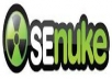 us e SEnuke XCr to create over 3000 quality backlinks for your site within 72 hours using premium service templates a n d custom lists 