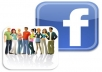 give you ✔500 Real facebook like✔for your fan page only