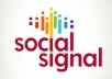 build social SIGNALS from top social sites to boost your seo