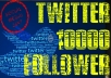 give you 10000+ twitter follower at very cheap rateNO BOTSNO ADMIN ACCESSNO HIDDEN CHARGES