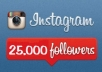 get you 25000 Top and High Quality INSTAGRAM followers in less then 24 hours only