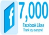 make quick and safe 7000 facebook likes for your page, i can give you over 500k likes for your page, for 1 page maximum 500k
